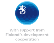 Finland Development Cooperation logo
